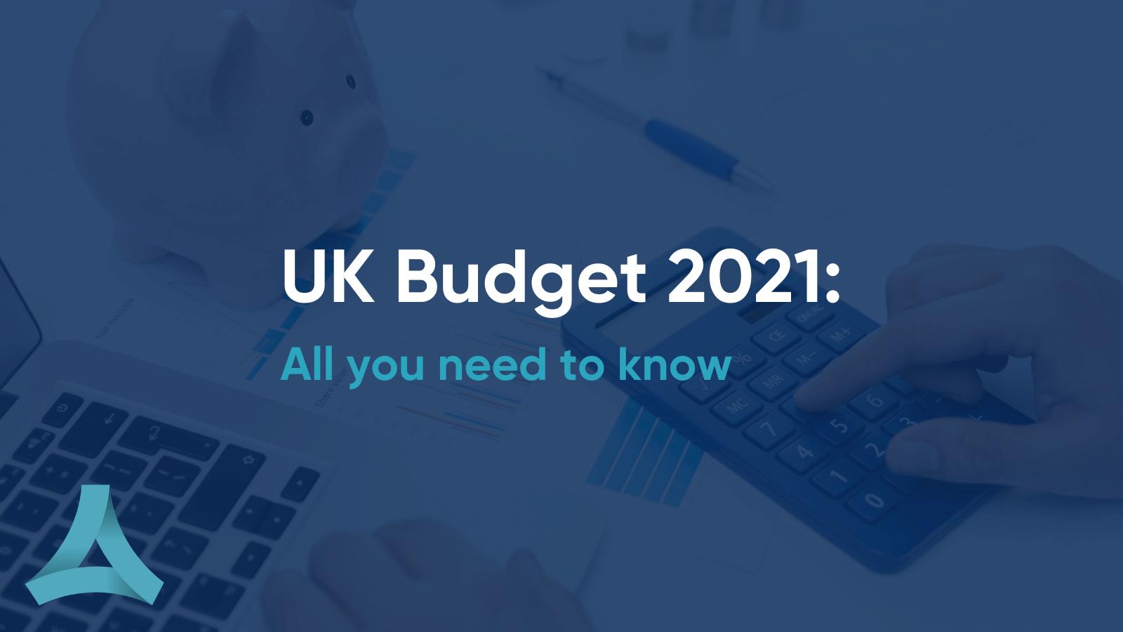 UK Budget 2021 update